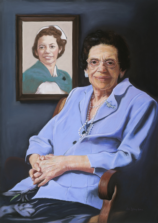Commissioned Portrait of Ms. Eva Noles